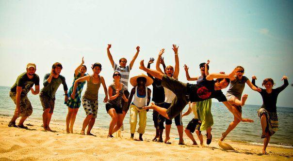 Friends in Korea