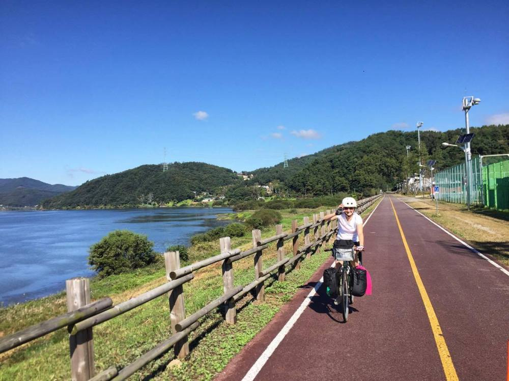 Cycling in South Korea