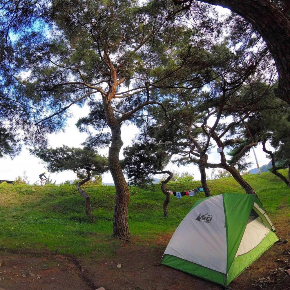 Camping in South Korea